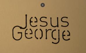 Jesus George am 20.10 um 19.00 in der Teutonia